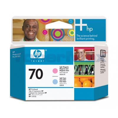 HP DESIGNJET Z2100 NO 70 PRINTHEAD LIGHT MAGENTA AND LIGHT CYAN